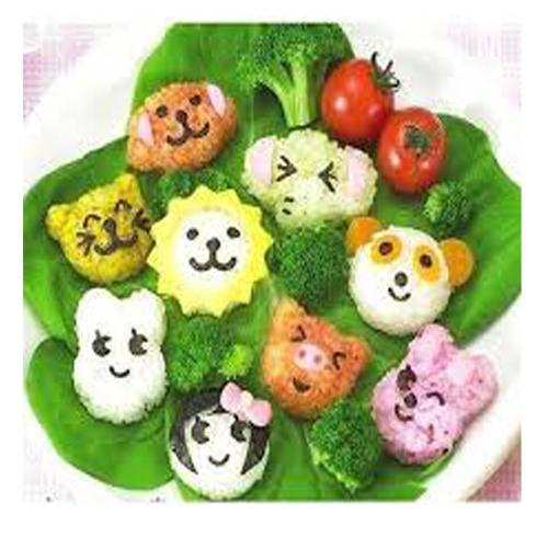 Trang trí món ăn kích thích cảm giác ăn cho bé