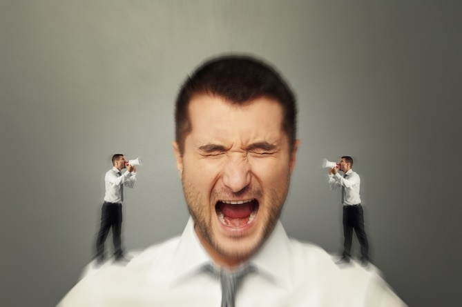 giọng nói trong đâu có làm bạn khó chịu
