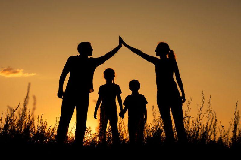 gia đình hạnh phúc hòa thuận