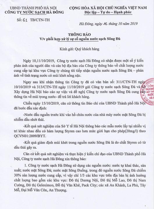 khu vuc ha noi nuoc may nhiem dau thai (1)