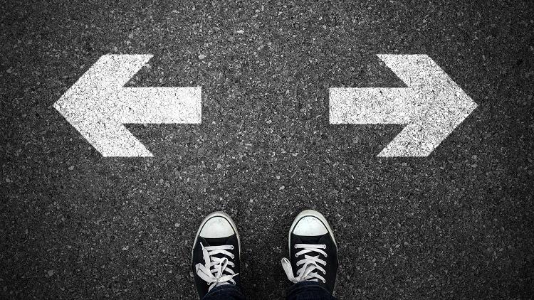 lựa chọn hướng đi trong cuộc sống