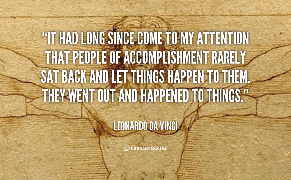 quote Leonardo Da Vinci it had long since come to my 89606