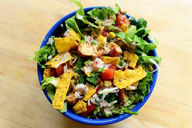 salad gà bổ dưỡng