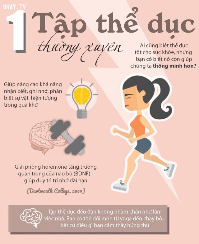 thói quen sức khỏe hằng ngày
