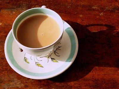 trà sữa earl grey uống nóng