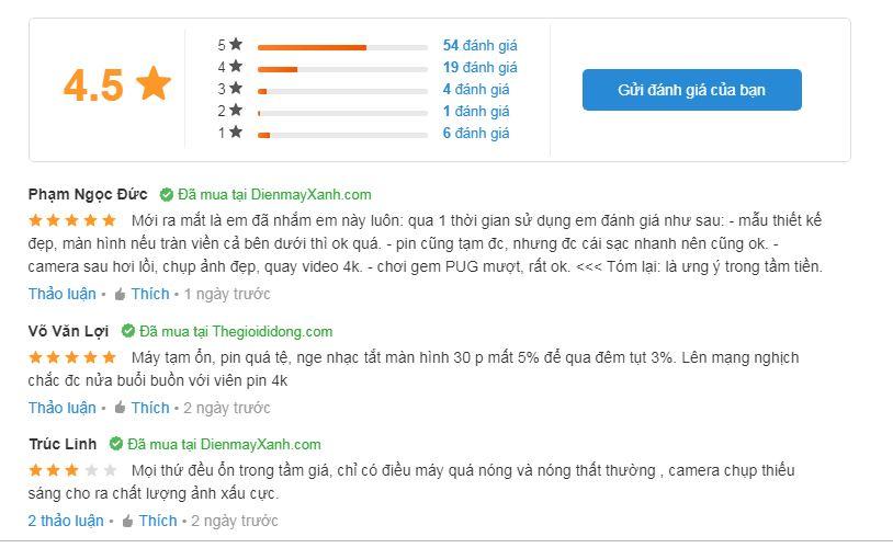 Đánh giá sử dụng Realme 5 Pro