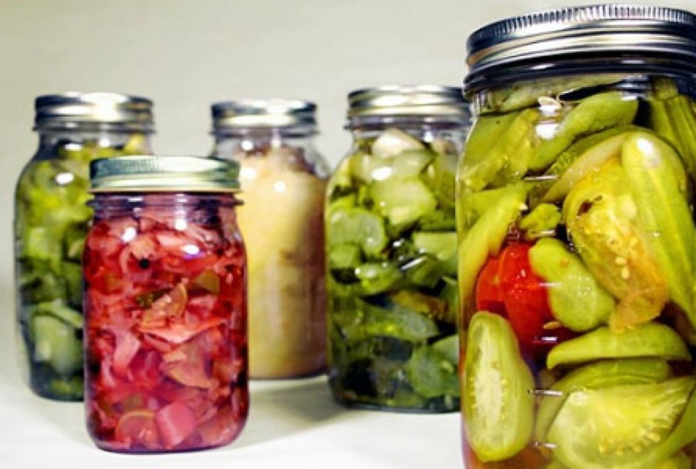 Muối chua cũng giúp bảo quản thực phẩm tốt hơn