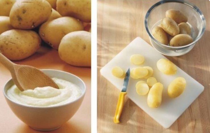 Khoai tây có thể dưỡng da mặt và cũng có thể dưỡng môi cực hiệu quả đây snhes