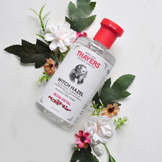 Nước cân bằng da Thayers Alcohol Free Witch Hazel Toner Rose Petal 355ml