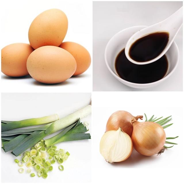 Nguyên liệu chính cần có cho món trứng ngâm tương