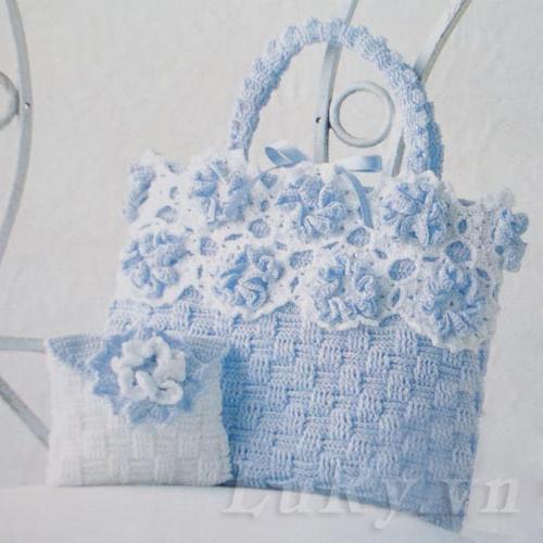 Túi xách bằng len