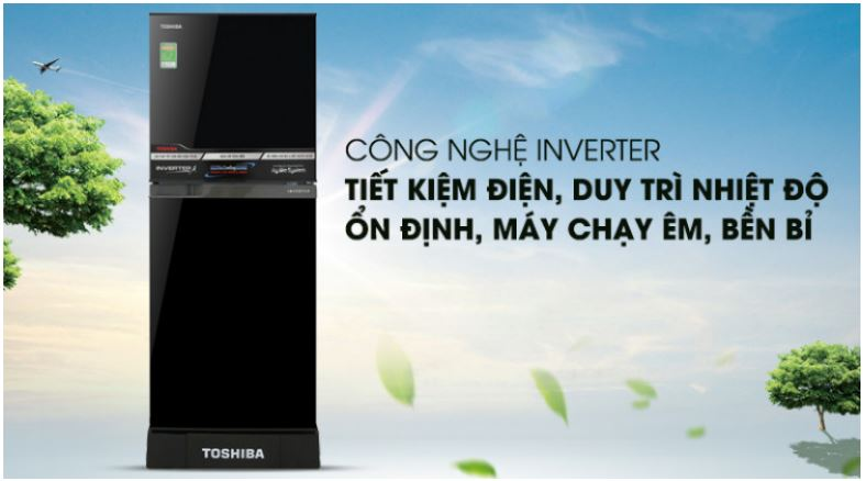 Tủ lạnh Toshiba Inverter 194 lít được ưa chuộng hiện nay