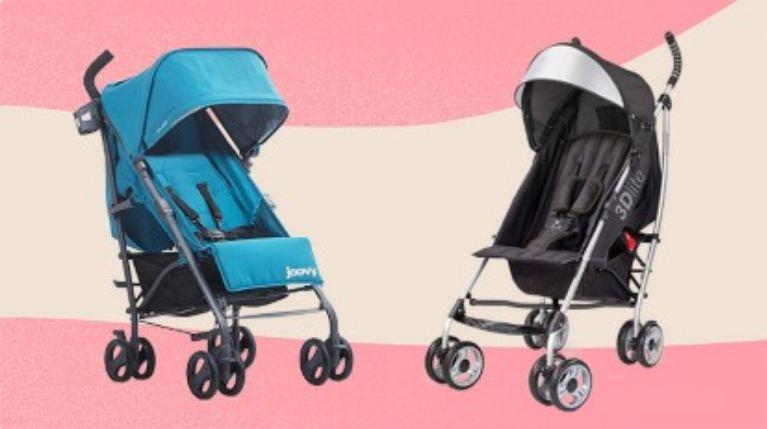 Xe đẩy dù nhẹ cho em bé, linh hoạt và tiện dụng