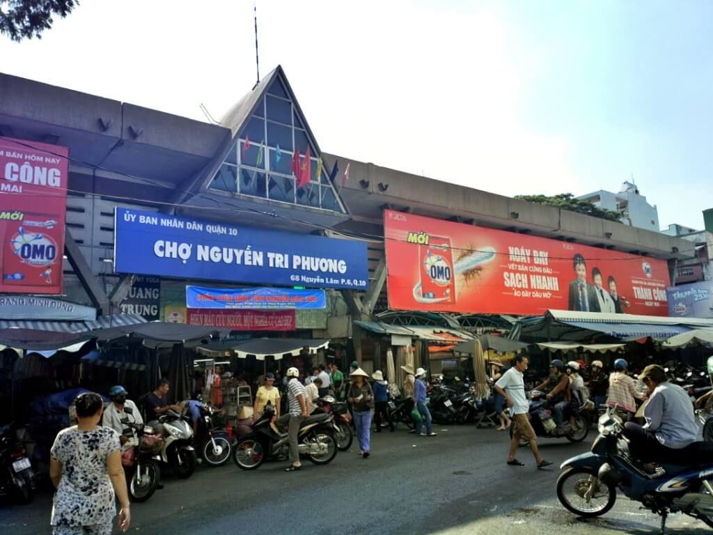 chợ đồ si Nguyễn Tri Phương