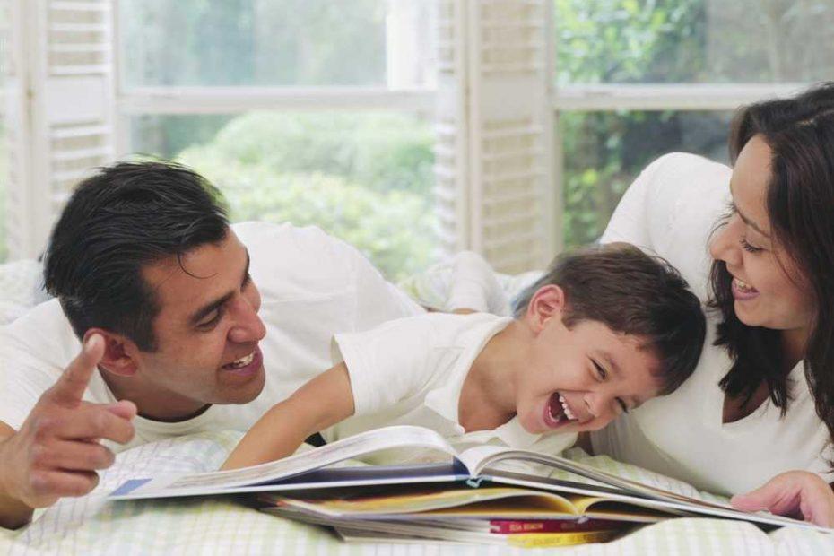 luyện cho con đọc sách