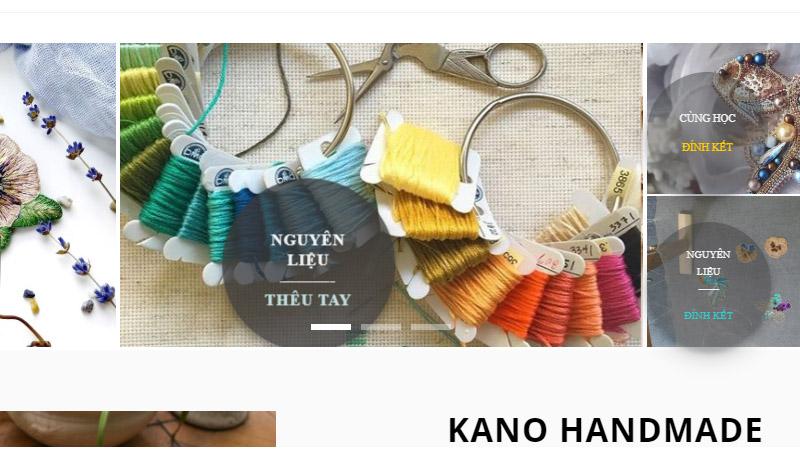 nguyen liệu theu tai Kano Handmade