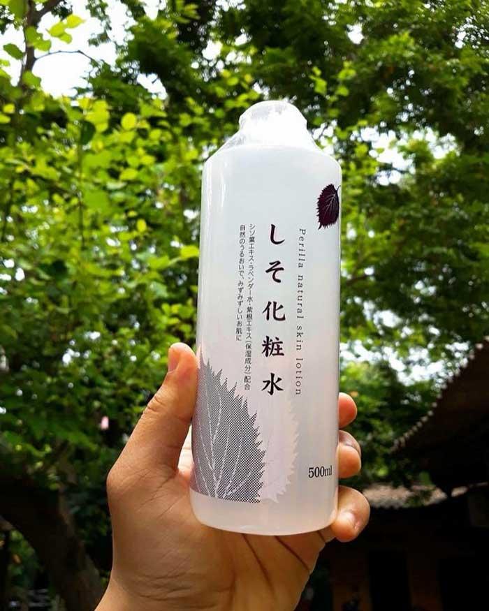 Nước hoa hồng tía tô Dokudami Nhật Bản