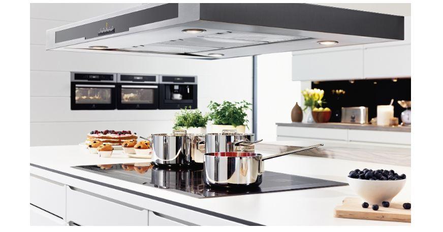 Bếp từ đặt ở vị trí nào của nhà bếp cũng gọn gàng, độ thẩm mỹ cao