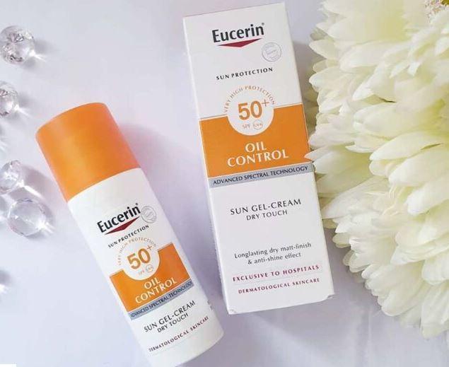 Kem chống nắng cho da dầu mụn Eucerin Sun Gel Creme Oil Control Dry Touch