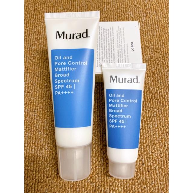 Kem dưỡng ẩm và chống nắng cho da dầu Murad Oil and Pore Control Mattifier Broad Spectrum SPF 45