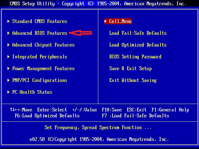 PC của bạn gặp vấn đề khi khở động bị treo ở màn hình BIOS