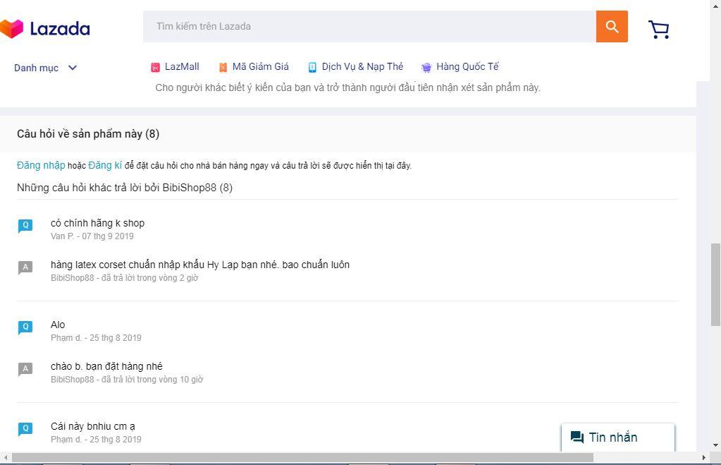 Review cua Lazada