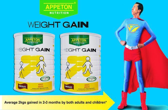 Sữa Appeton Weight Gain sản phẩm được nhiều người tiêu dùng biết đến