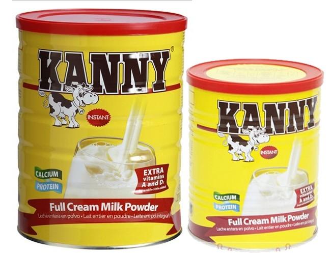 Sữa Kanny dinh dưỡng năng lượng cao cho cả gia đình