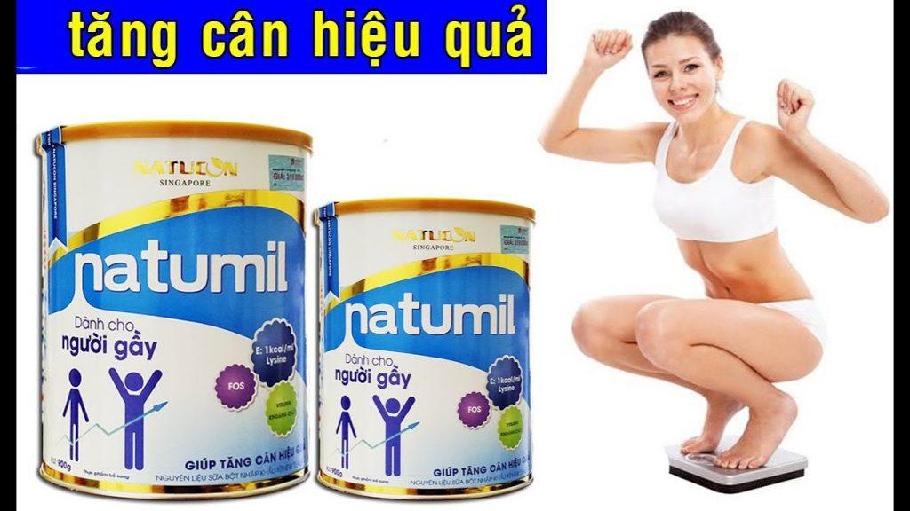 Sữa bột Natumil dành cho người gầy cần tăng cân