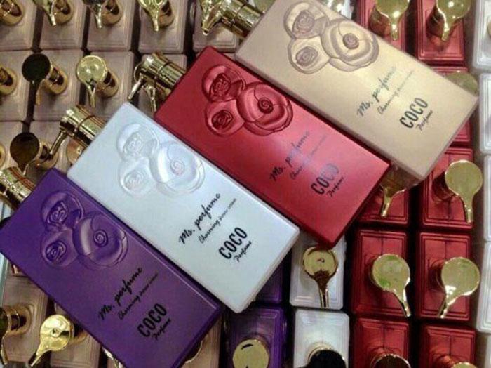Sữa tắm Coco Perfume Charming shower Cream với nhiều mùi hương nước hoa