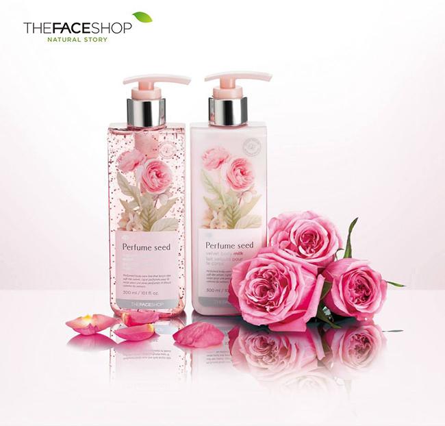 Sữa tắm nước hoa Perfume Seed Body Milk The Face Shop cho làn da quyến rũ