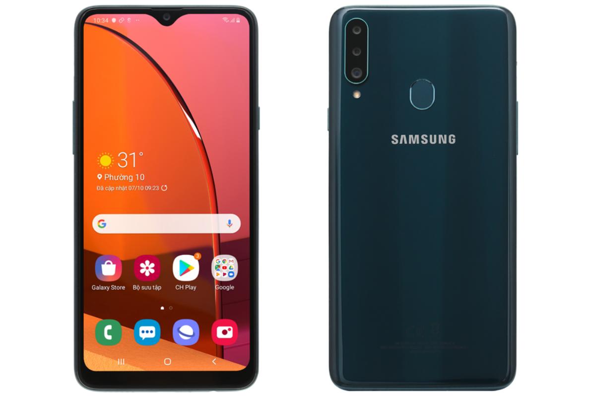 Samsung galaxy A20s đt