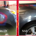 Mẹo loại bỏ vết lõm trên xe ô tô đơn giản dễ làm bằng máy sấy tóc