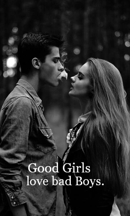 bad boy couple good girl love Favim.com 2887884