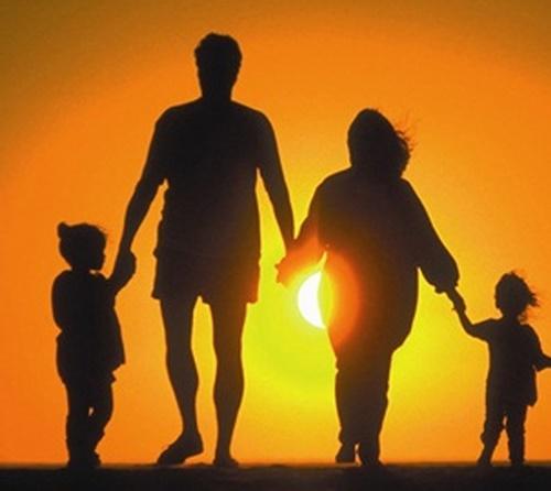 hình ành gia đình đẹp