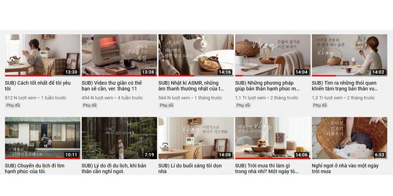 kênh youtubenên xem kênh youtube thư giãn 6