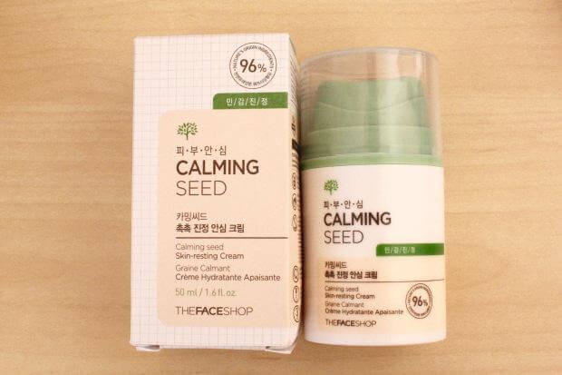kem duong thefaceshop duong da calming seed skin resting cream 01