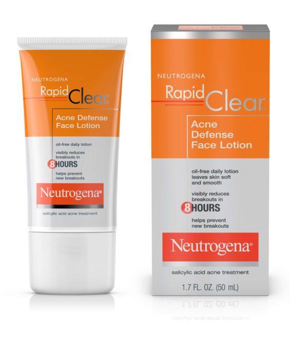 kem duong tri mun neutrogena rapid clear acne defense face lotion 50ml
