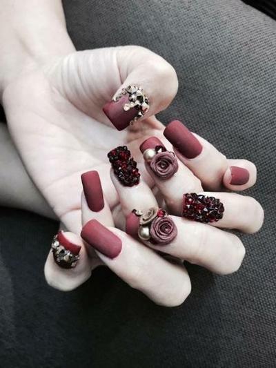 mau nail xinh 1