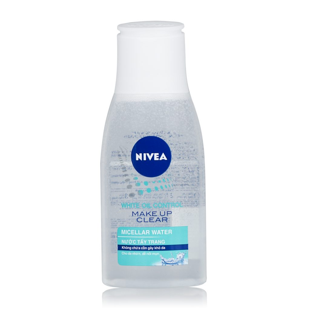 nivea 86610 nivea oil control make up clear cleansing water 125ml xanh 1
