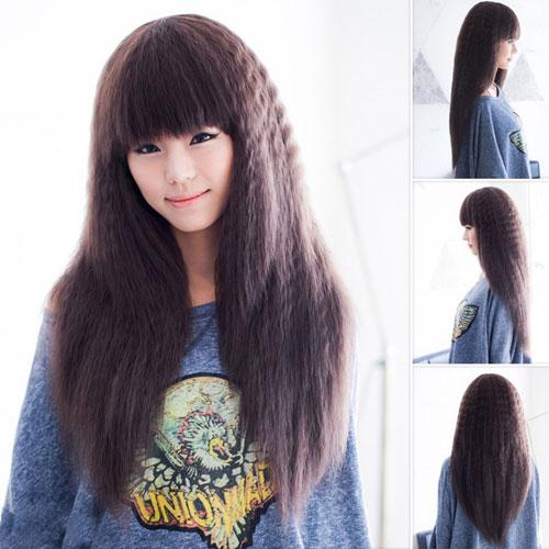 tóc duỗi xù