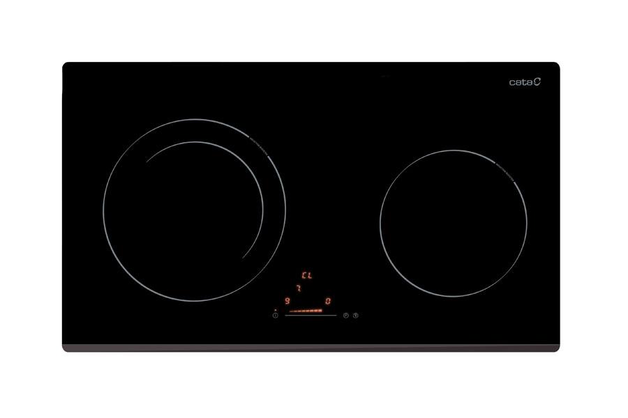 2 mặt bếp nấu có khả năng xác định vùng nồi tự động rất thông minh