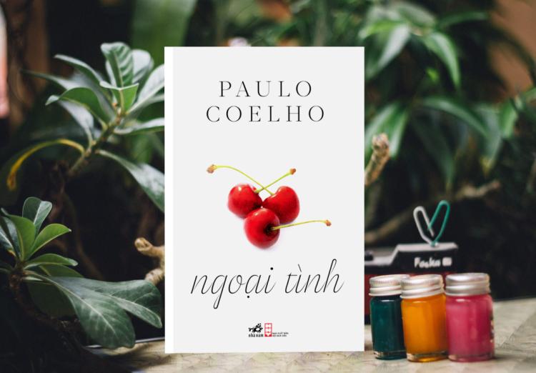 Bìa sách Ngoại tình của Paulo Coelho.
