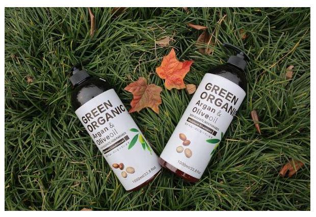 Dầu cặp Green Organic – Argan & Olive oil đẩy lùi các hư tổn của tóc