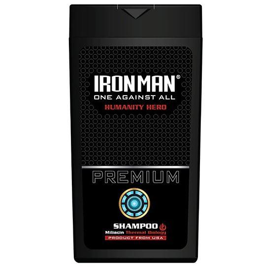 Dầu gội nhiệt hương nước hoa Ironman Humanity
