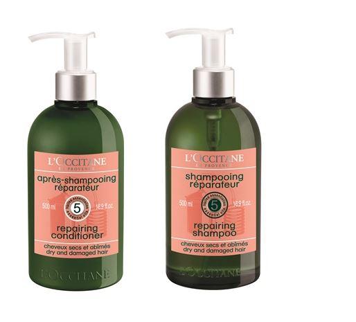 Dầu gội và xả L'Occitane Aroma Repairing Dry and Damage Hair