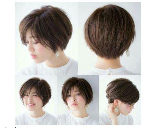 Mẫu tóc ngắn dành cho các cô nàng có khuôn mặt vuông