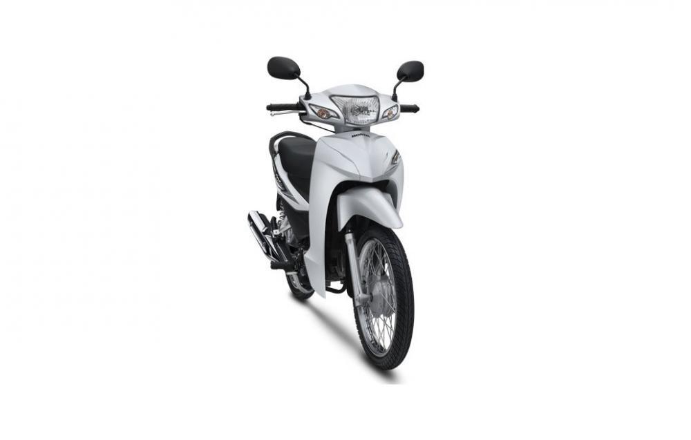 Sản phẩm xe máy Honda Wave Alpha 110 2019 màu trắng