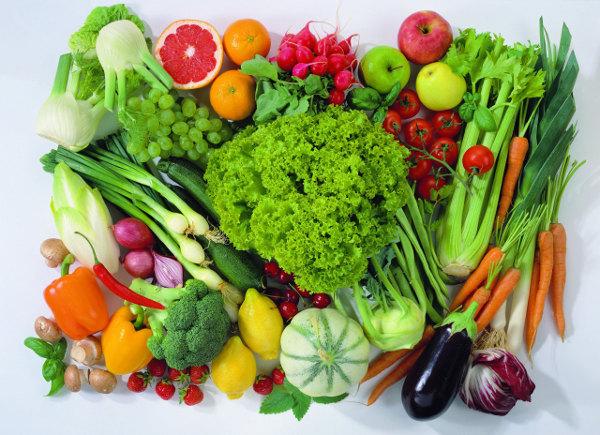 Rau củ quả là món ăn giảm cân cực kì hiệu quả