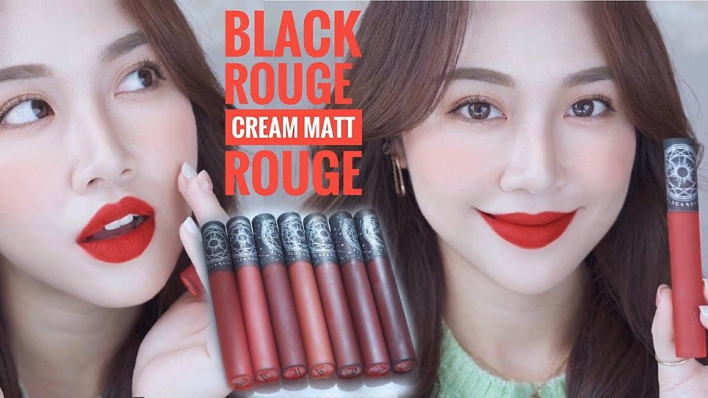 7 thỏi son black rouge cream matt rouge 2020
